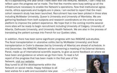 IMAGINE Network Newsletter #3