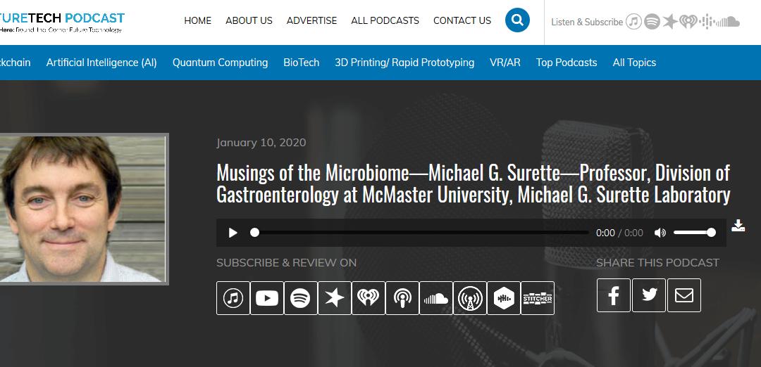 Dr. Mike Surette on FutureTech podcast