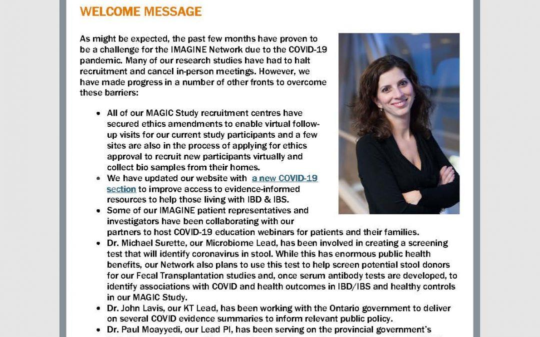 IMAGINE Network Newsletter #13