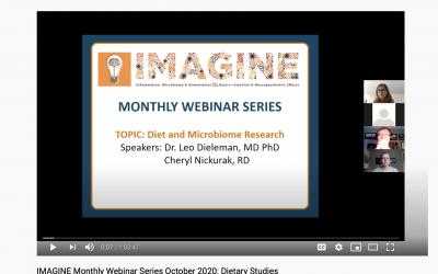 IMAGINE Monthly Webinar Series: October 2020 Dietary Studies